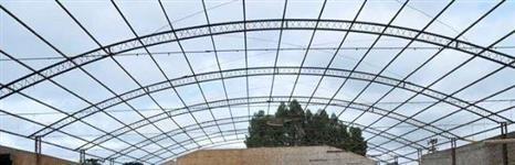 Barração Usado Metálico em arco - 22 x 65 mts