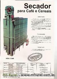 Secador de Café e Cereais