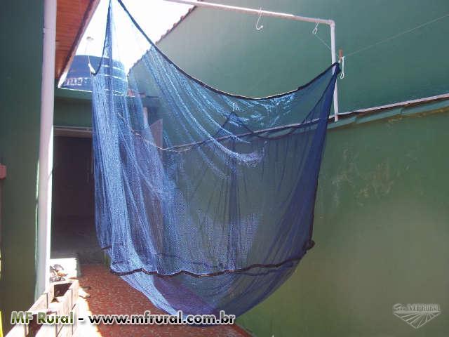 Berçario para Alevinos de malha e PVC