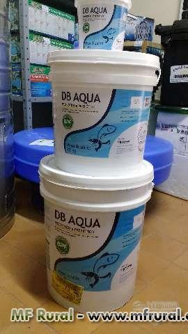 Biorremediador (Probiótico e Prebiótico) DB Aqua, para eliminar Algas, Lodo, Amônia dos tanques