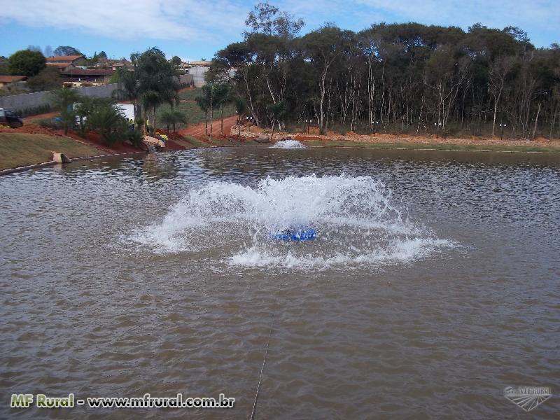 Aerador para lagos de 50 a 3500 mts2