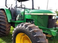 Trator John Deere 6300 4x4 ano 01