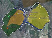 Fazenda pr�xima � Bras�lia, muita �gua, escritura de 40 anos e 450 hectares para agricultura