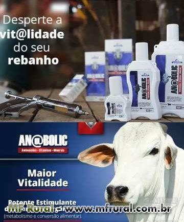 ANABOLIC ACELERA O PESO DO SEU REBANHO ANABOLIC MINERAIS VITAMINAS E AMINOACIDOS E GANHO DE PESO.