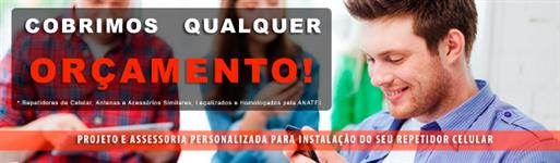 REPETIDOR de SINAL de CELULAR 03 WATTS 900MHZ 85DB