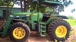 Trator John Deere 6615 4x4 ano 09