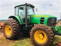 Trator John Deere 6180 4x4 ano 15