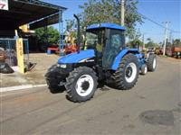 Trator Ford/New Holland TL 75E 4x4 ano 03
