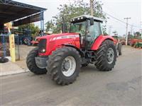 Trator Massey Ferguson 7180 4x4 ano 09