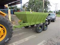 Calcareadeira Marca:Kamaq Modelo:Komander 60 rodagem tander com 4 pneus,capacidade para:5000 KG