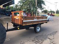 Carreta agrícola basculante Marca:Tadeu para 3 ton,(nova)