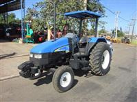 Trator New Holland TL 75 E 4x2 ano 07