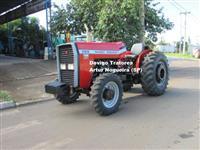 Trator Massey Ferguson 265E 4x4 ano 01
