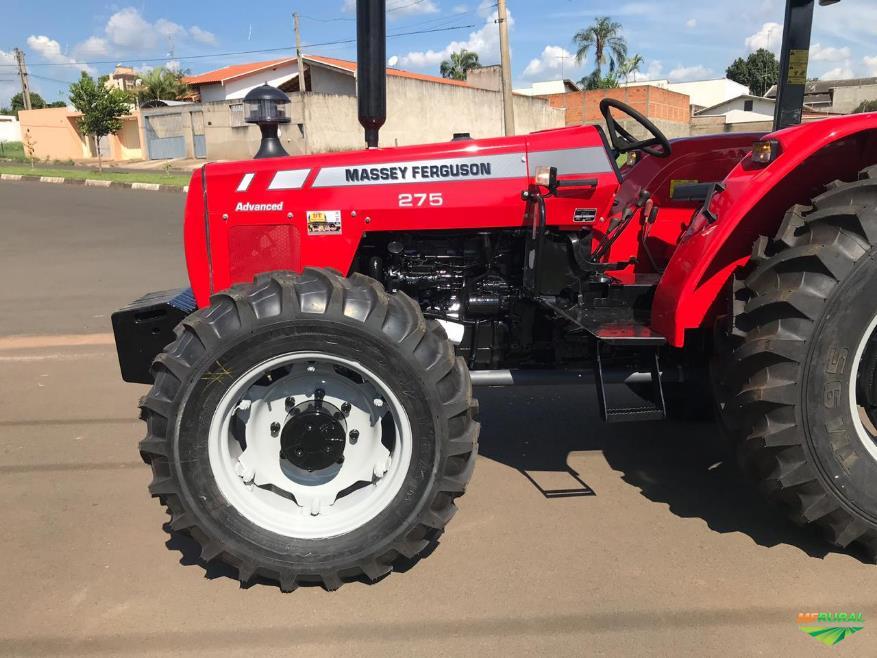 Trator Massey Ferguson 275 4x4 ano 07