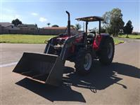 Trator Massey Ferguson 283 Advanced 4x4 ano 09