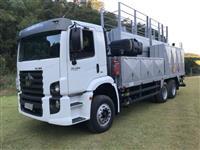 Caminhão Volkswagen (VW) 26280 6xa comboio de abastecimento  impacto melosa ano 14