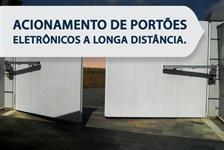 ACIONAMENTO DE PORTÕES ELETRÔNICOS À LONGA DISTÂNCIA