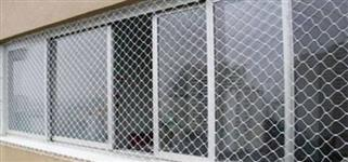 REDE DE PROTEÇÃO EM NYLON -  TELA PARA SACADAS - REDE DE POLIETILENO - CERCA DE NYLON