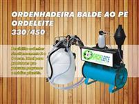 ORDENHADEIRA COMPLETA COM MOTOR E TARRO (LATÃO)