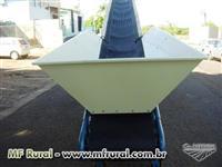 Esteira transportadora aviário (cama de frango)