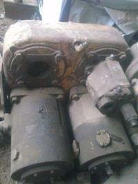 Conjunto de motor hidraulico de perfuratriz