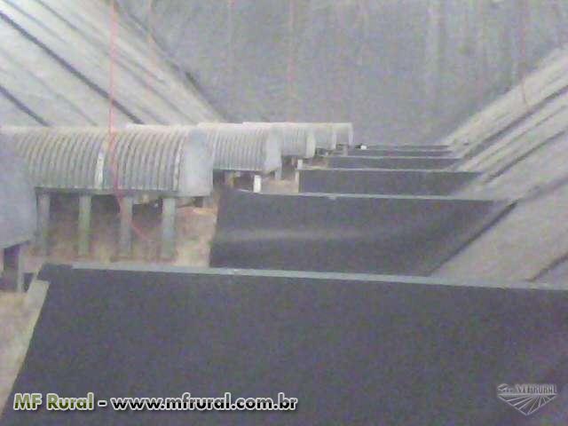 Impermeabilizações de silos e armazéns