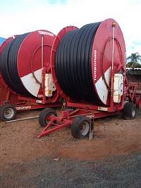Sistema Irrigação Carretel Irrigamatic Irrigabrasil 140/450, motobomba Diesel MWM 310, Tubo 8