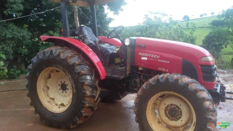 Trator Yanmar 1175 4x4 ano 12