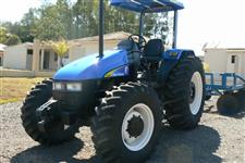 Trator New Holland TL 75 E 4x4 ano 06