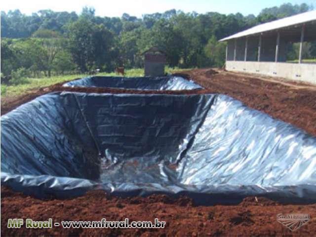 Esterqueiras biodigestores instala es rurais novas for Como criar cachamas en tanques plasticos