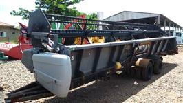 Plataforma de Soja Massey Ferguson 30 pés ano 2010 com carreta de transporte regulavel