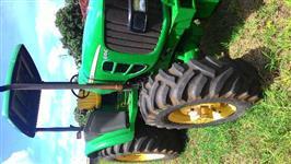 Trator John Deere 6110 E 4x4 ano 14