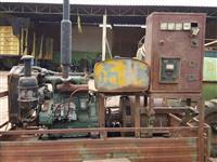 Gerador de energia 30kva motor MWM 3 cilindros diesel