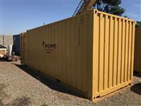 Locação de Containers com Energia Elétrica