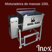 Misturadeira de massas - 100L - NOVA - Ideal para fabricas de Embutidos, Conservas, Massas, Doces