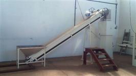Conjunto de empacotamento de produtos secos e grãos