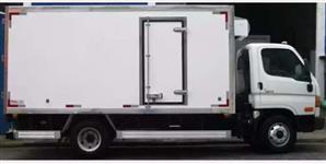 Bau Refrigerado com Aparelho de Refrigeração