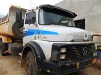 Caminhão  Mercedes Benz (MB) 1316 caçamba basculante   ano 75
