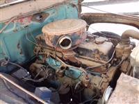 Chassis F600 1961 com mecanica perkins, cambio e diferencial reduzido com docs