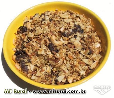 Granola tradicional a R$ 5,80