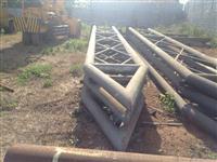 Vendo Estrutura Metálica  Feita sob encomenda  de 8 x 30 metro Exclusiva