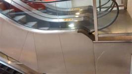 4 Escadas Rolantes  0,80 largura  5 m de altura e 14 metros de comprimento