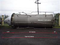 10 Tanques de Inox de 30 mil litros  cada para oléo