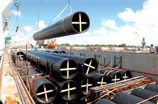 Tubo de 560 mm  x 26,70 mm x 12 metros  para ÁGUA  PE 1000