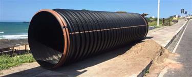 Tubo corrugado Kananet  450 mm Corrugados