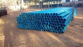 Tubos de PVC  de 4 polegadas PN 40  Novos