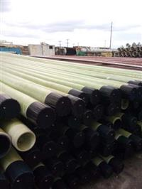 Tubos de 4 polegadas de Fibra para irrigação  barras de 8metros novos