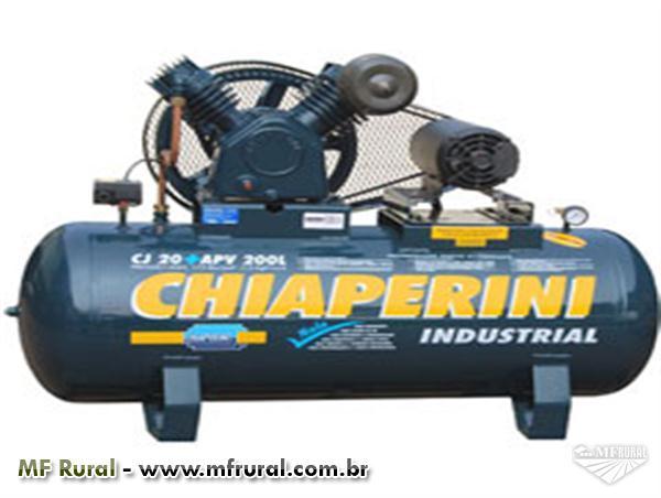 Compressor Chiaperini Modelo CJ 20 pés 200 Litros