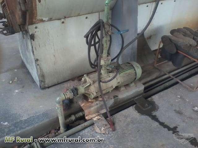 Caldeira H Bremer de 400 kg a lenha