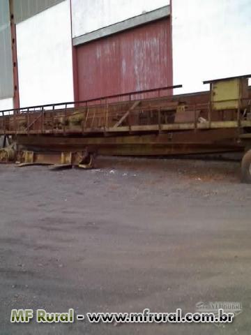 Ponte Rolante de 15 tons vão de 22m